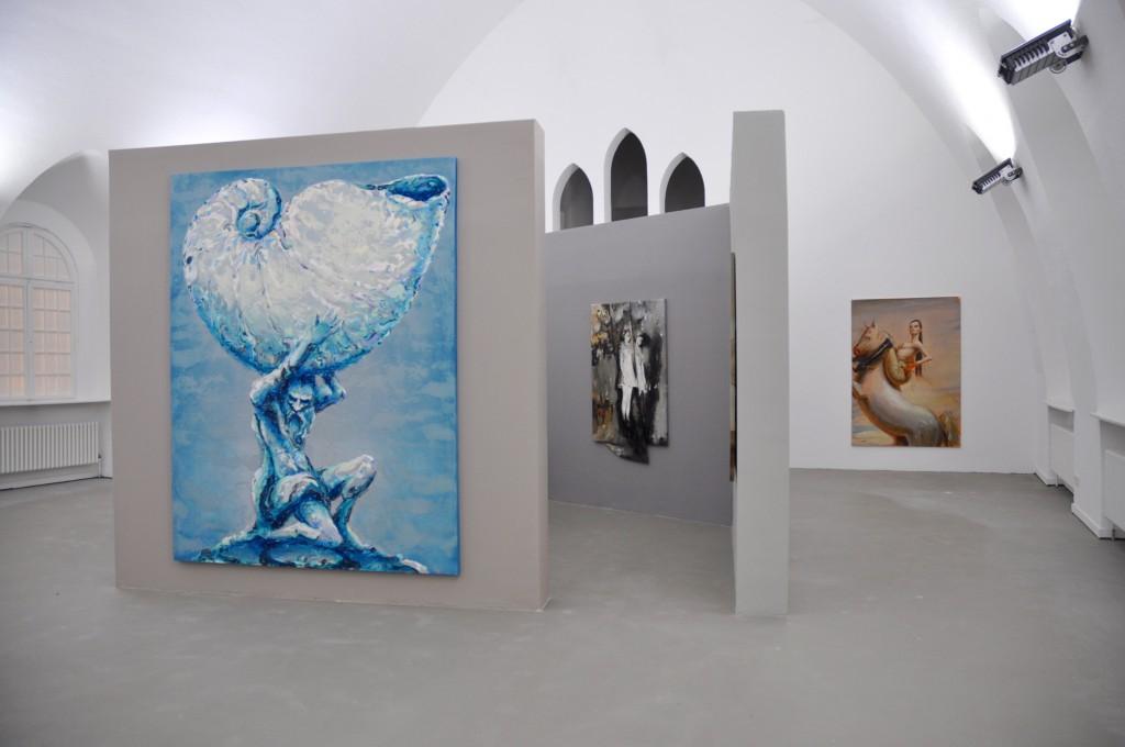 Galerie Ebensperger, Berlin Innenraum