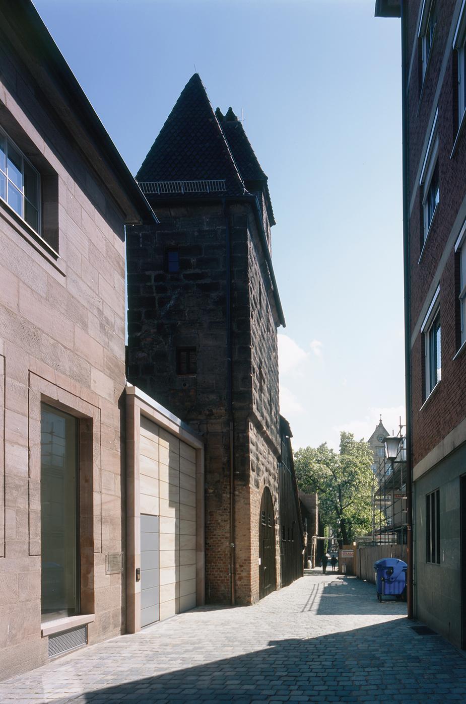 Kunsthalle Nürnberg Gasse